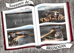 Souvenir De ... BRIGNOGAN - Les Régates - Le Phare De Pontusval - Les Plages - Le Camping - Livre Ouvert - Brignogan-Plage