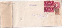 USA 1906 ENTIER POSTAL LETTRE DE NEW YORK - Enteros Postales