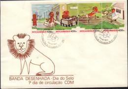 Ref. 575300 * NEW *  - MOZAMBIQUE . 1990. STAMP DAY. DIA DEL SELLO - Mozambico