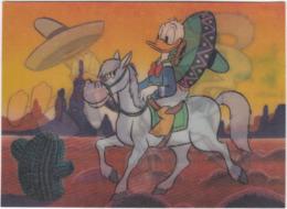 Gf. Lenticulaire 3D. DONALD, The Rodeo. Walt Disney Productions. 202 - Sin Clasificación