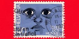 SVIZZERA - Usato - 1973 - 'Terre Des Hommes' - Aiuti Per Bambini - 40 - Usati
