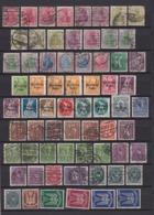 Deutsches Reich - 1920/23 - Sammlung - Gest./Postfrisch - Gebraucht