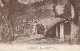 CPA  84  SEGURET  PORTE SUD XIVème SIECLE - France