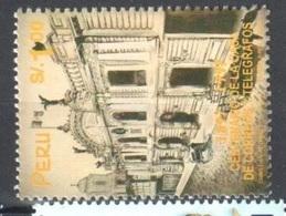 Peru Mnh ** Two Stamps 6 Euros 1997 - Peru