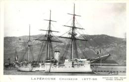 """MARINE MILITAIRE -  """"la Pérouse"""" Croiseur (photo Marius). - Guerre"""