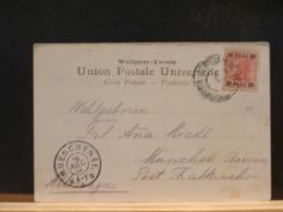 A11/336   CP JERUSALEM  1904  POUR MUNCHEN - Oriente Austriaco