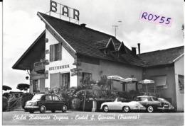 Emilia Romagna-piacenza-castel S.giovanni Ristorante Bar Tabacchi Dogana Differente Veduta Chalet Auto Epoca Anni 50 - Italien