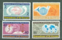 St Vincent Grenadines: 1974   U.P.U. Centenary     MNH - St.Vincent & Grenadines