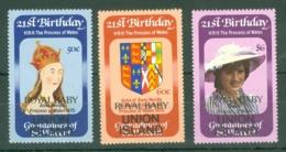 St Vincent Grenadines: 1982   Royal Baby OVPT [Union Island]    MNH - St.Vincent & Grenadines