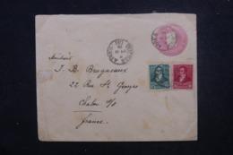 ARGENTINE - Entier Postal + Compléments De Buenos Aires Pour La France En 1896 - L 45711 - Ganzsachen