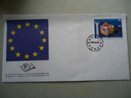 GREECE FDC  EUROPA  IDEA  EUROPEAN UNION - Europa-CEPT