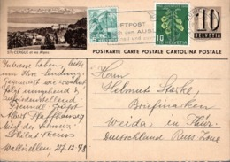 1948 - AVEC COMPLEMENT D'AFFRANCHISSEMENT - - Interi Postali