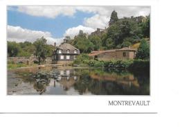 49 MONTREVAULT Cpm L'Evre Le Moulin Et Le Pont Romain - Montrevault