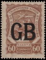 ~~~ Colombia Colombie 1923 - SCADTA - Poste Consulaire Pour Grande Bretagne - Mi. LA620 ** MNH - Depart 1 Euro  ~~~ - Colombia