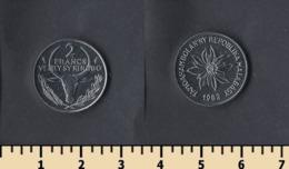 Madagascar 2 Francs 1982 - Madagaskar
