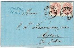 1866, Trautenau , Brief , A2344 - Lettres & Documents