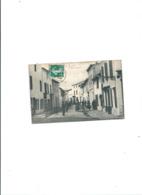 CPA ILE DE RE LA RUE DU MARCHE  BELLE ANIMATION 1909 - Ile De Ré