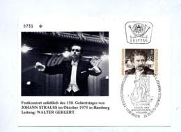 Carte Cachet Wien Festival Strauss - Marcophilie - EMA (Empreintes Machines)