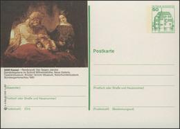 P130-h4/060 3500 Kassel, Gemälde Von Rembrandt ** - BRD