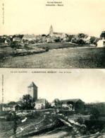 LABASTIDE MURAT  =  Village + Tour De Soyris  (2 Cpa)   986 - Other Municipalities