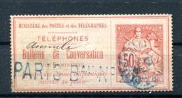 Téléphone : Yvert 4 - Oblitéré - Cote 30 Euros - Lot 193 - Telegraph And Telephone