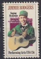 USA 1979 Jimmie Rodgers 1v ** Mnh (45019) - Ongebruikt