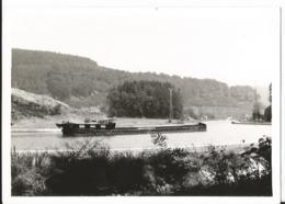 Photo - Péniche Quittant Le Plan Incliné à Arzviller - Saint Louis - Alsace - Moselle - Boats