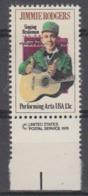 USA 1979 Jimmie Rodgers 1v(margin)  ** Mnh (45019B) - Ongebruikt