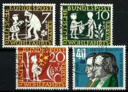 Alemania Federal Nº 195/8 Usado. Cat.8€ - Used Stamps