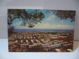 HAÏFA ISRAËL BATH GALIM SEEN FROM MT CARMEL WITH STADIUM AND KIRKA ELIEBER CPSM FORMAT CPA - Israele