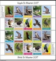 ST. MAARTEN 2017 BIRDS VOGELS OISEAUX MNH ** VERY FINE - Curaçao, Antilles Neérlandaises, Aruba