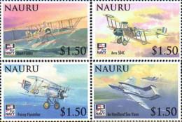 Ref. 235837 * NEW *  - NAURU . 2009. CENTENARY OF BRITISH AIR NAVY. CENTENARIO DE LA AERONAVL BRITANICA - Nauru