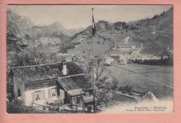 OUDE POSTKAART ZWITSERLAND - SUISSE -  SCHWEIZ - - ENGELBERG - BANKLIALP - OW Obwalden