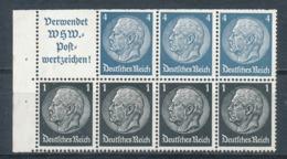 Deutsches Reich Heftchenblatt 93 B ** Mi. 35,- - Zusammendrucke