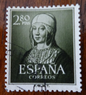 &85& SPAIN, ESPAÑA EDIFIL 1096, YVERT 815, MICHEL 993 VF USED ISABEL. - 1931-Heute: 2. Rep. - ... Juan Carlos I