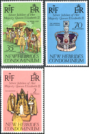 Ref. 229773 * NEW *  - NEW HEBRIDS . 1977. FAMOUS PEOPLE. PERSONAJES - Nuevos