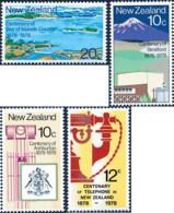 Ref. 162290 * NEW *  - NEW ZEALAND . 1978. VARIOUS ANNIVERSARIES. ANIVERSARIOS VARIOS - Nuova Zelanda