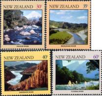 Ref. 173096 * NEW *  - NEW ZEALAND . 1981. LANDSCAPES. PAISAJES - Nuovi