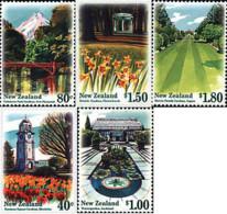 Ref. 95042 * NEW *  - NEW ZEALAND . 1996. PUBLIC GARDENS. JARDINES PUBLICOS - Nuova Zelanda