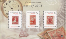 Ref. 275060 * NEW *  - NEW ZEALAND . 2005. 150th ANNIVERSARY OF FIRST STAMP OF NEW ZEALAND. 150 ANIVERSARIO DE LOS PRIME - Nuovi