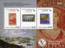 Ref. 187255 * NEW *  - NEW ZEALAND . 2005. NATIONAL PHILATELIC EXHIBITION AUCKLAND. EXPOSICION FILATELICA NACIONAL A AUC - Nuovi