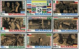 Ref. 50455 * NEW *  - NICARAGUA . 1974. FOOTBALL WORLD CUP. GERMANY-74. COPA DEL MUNDO DE FUTBOL. ALEMANIA-74 - Nicaragua
