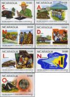 Ref. 369847 * NEW *  - NICARAGUA . 1981. FIRTS ANNIVERSARY OF THE NATIONAL LITERACY CRUSADE. PRIMER ANIVERSARIO DE LA C - Nicaragua