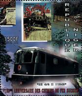 Ref. 56717 * NEW *  - NIGER . 1997. 150th ANNIVERSARY OF THE SWISS RAILWAYS. 150 ANIVERSARIO DE LOS FERROCARRILES SUIZOS - Níger (1960-...)