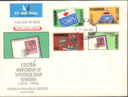 Ref. 526130 * NEW *  - NIGERIA . 1994. CENTENARY OF THE STAMP. CENTENARIO DEL SELLO - Nigeria (1961-...)