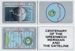 Ref. 147571 * NEW *  - NIUAFO'OU . 1984. CENTENARIO DEL MERIDIANO DE GREENWICH - Otros - Oceanía