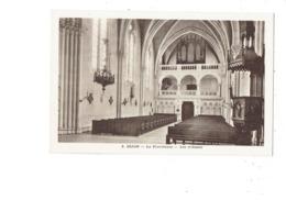 Cpa 21 - DIJON - LA PROVIDENCE . Les Tribunes - Orgue Orgues Orgel Organ - N°8 - Statue - Dijon
