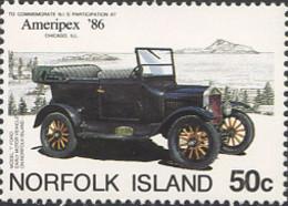 Ref. 289851 * NEW *  - NORFOLK . 1986. AMERIPEX-86 INTERNATIONAL PHILATELIC EXHIBITION . AMERIPEX 86. EXPOSICION FILATEL - Isla Norfolk