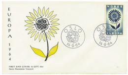 Ref. 22910 * NEW *  - NORWAY . 1964. EUROPA CEPT. DAISY WITH 22 PETALS. EUROPA CEPT. MARGARITA CON 22 PETALOS - Nuovi