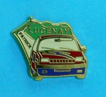 1 PIN'S //   **  RALLYE / LUCENAY PATRICK / R5 GT TURBO ** - Rally